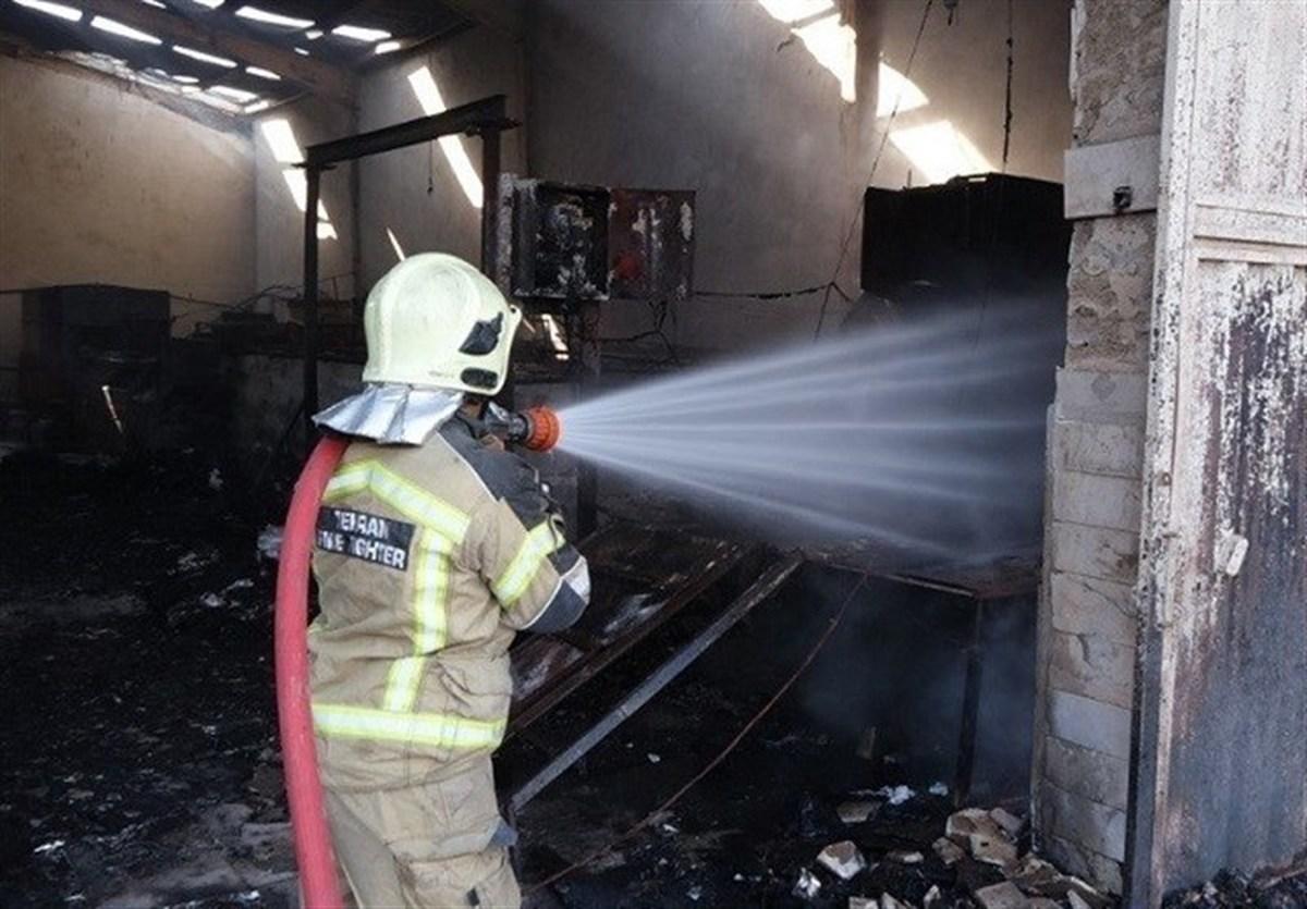 آتشسوزی در پردیس ۱ کیش | بخشی از این بازار تخریب شد