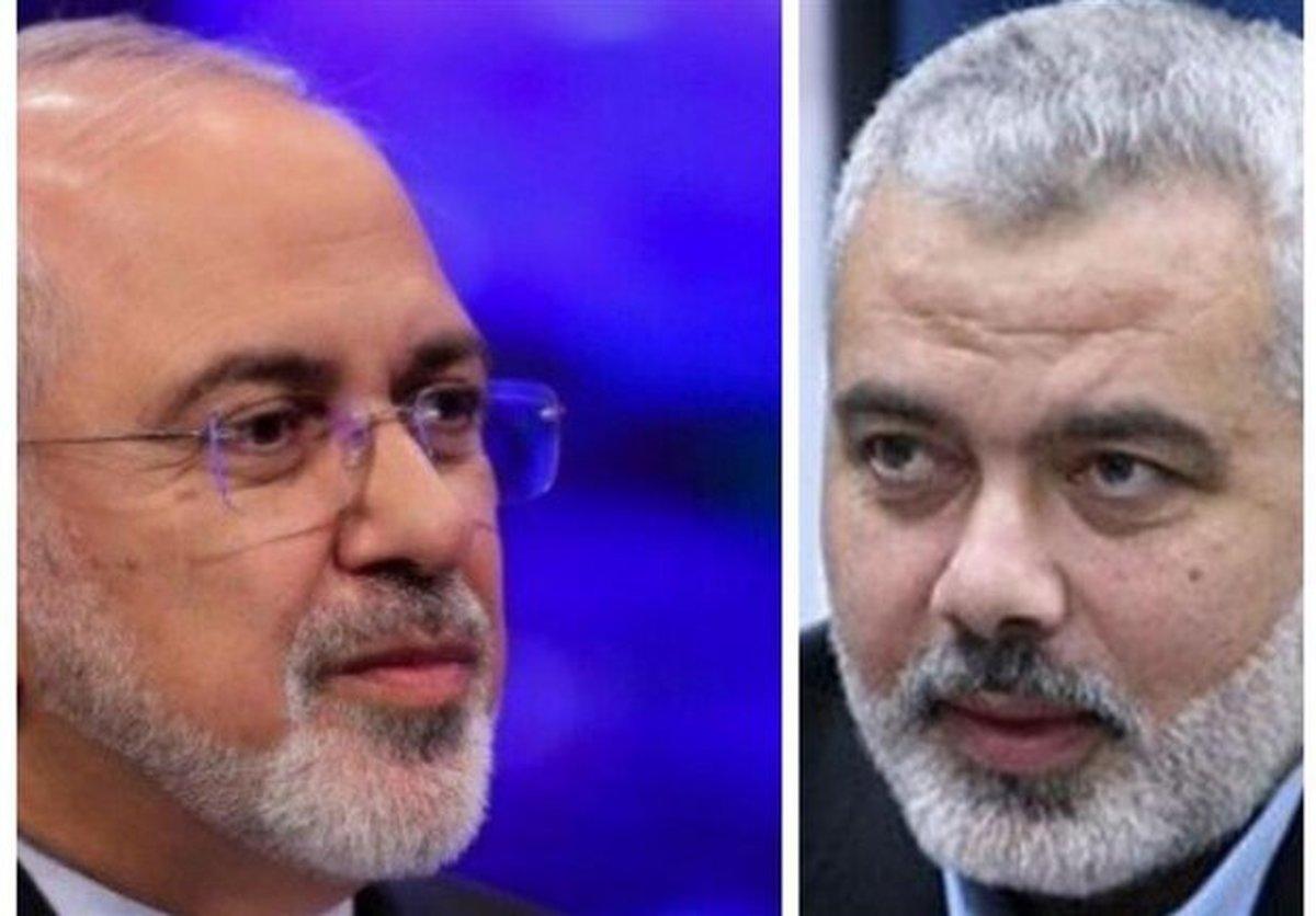 ظریف بر حمایت همهجانبه ایران از حقوق مردم فلسطین تاکید کرد