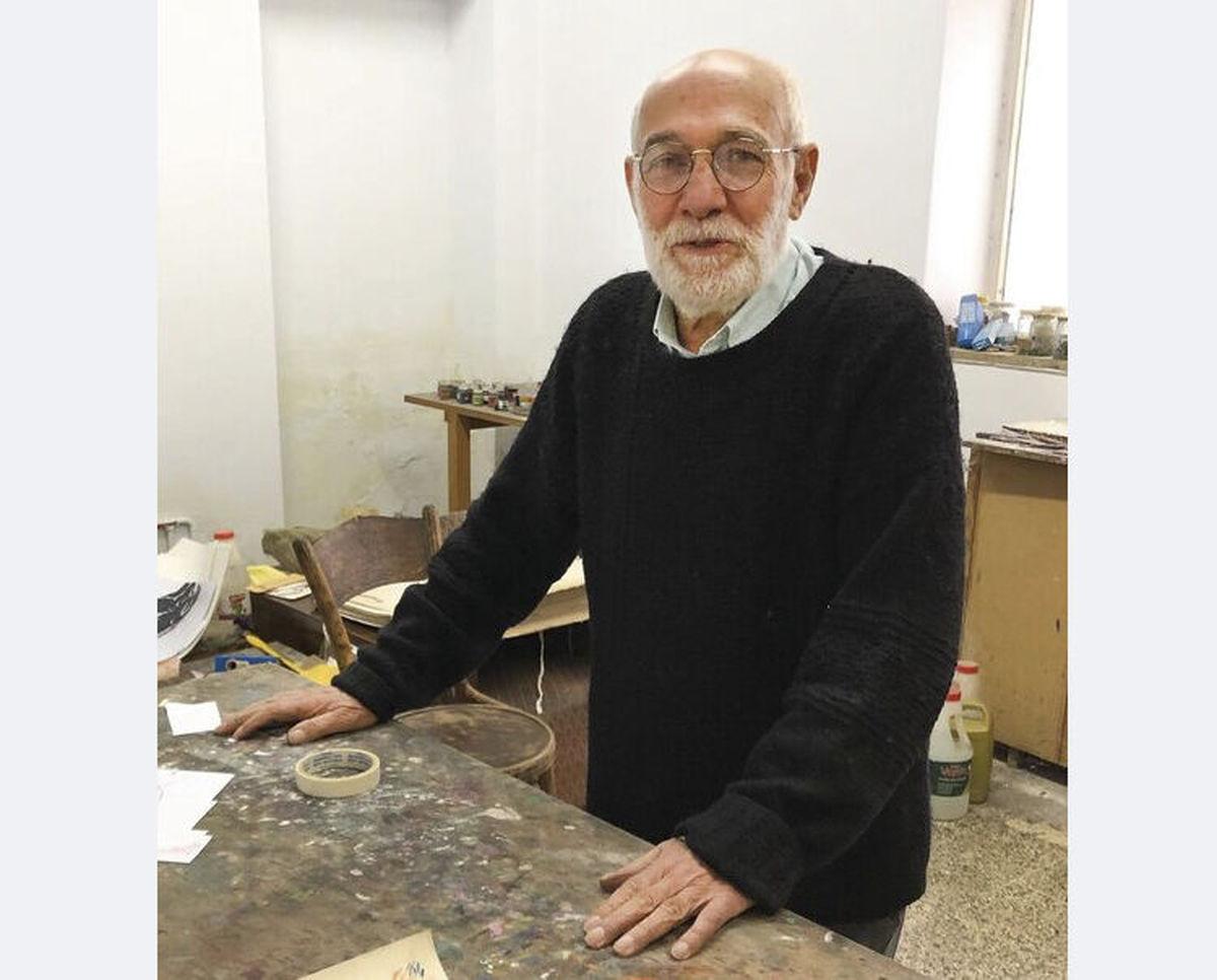 کرونا جان علی گلستانه از نقاشان شاخص ایران را گرفت