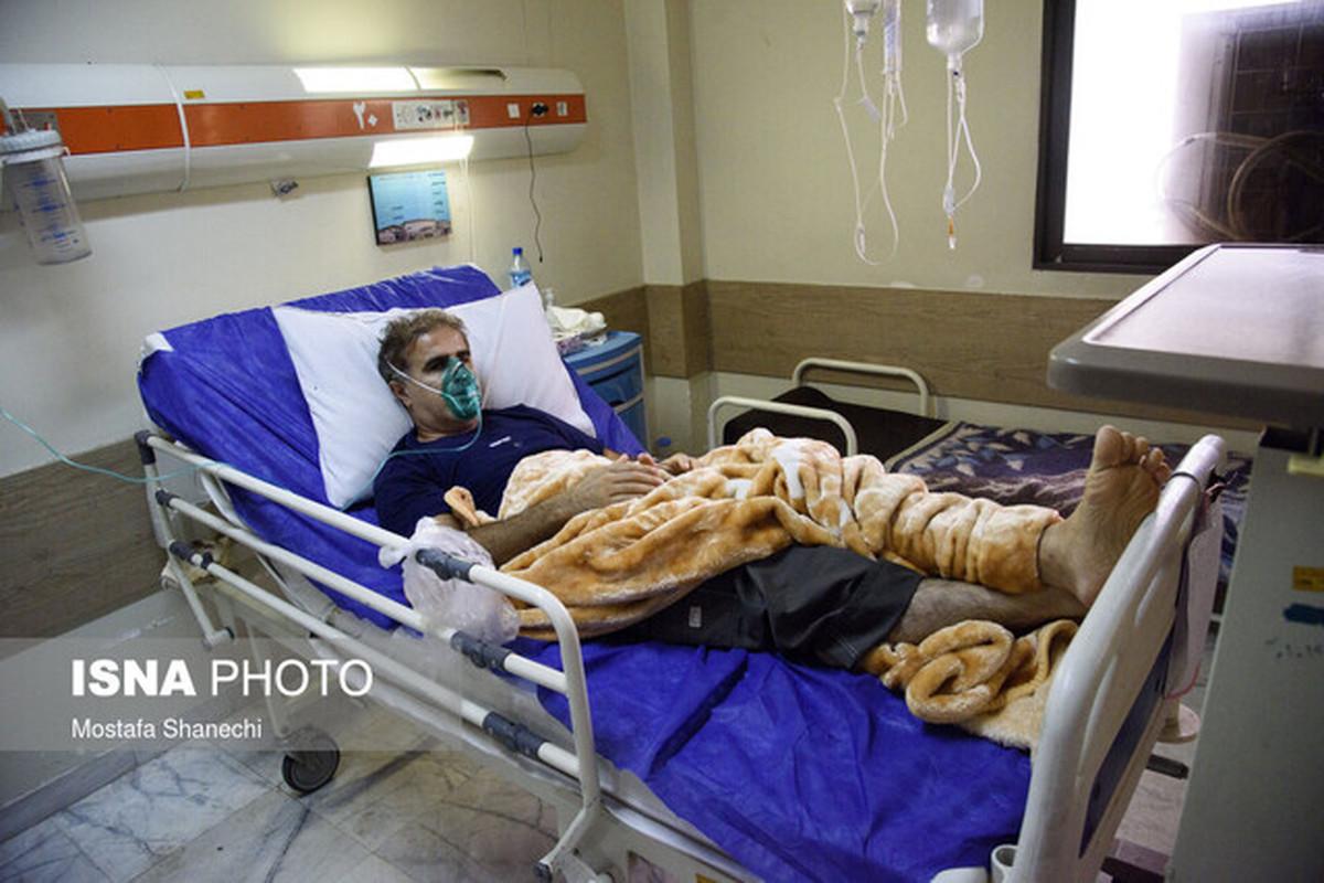 سه رقمی شدن بستری بیماران کرونایی در مازندران/ ۹۸۵ بیمار بستری هستند