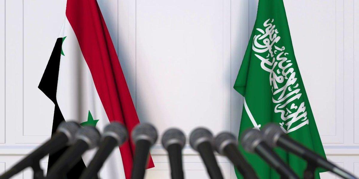 اولین گام برای بازگرداندن روابط دمشق و ریاض | تلاشهایی برای بهبود روابط