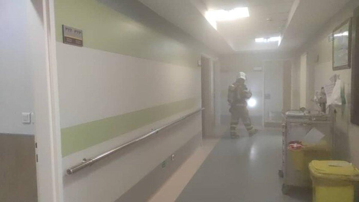 حادثه آتش سوزی بیمارستانی در یوسف آباد +جزئیات