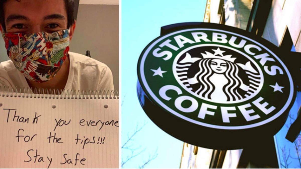 ۸۰ هزار دلار انعام را برای حمایت از باریستای استارباکس