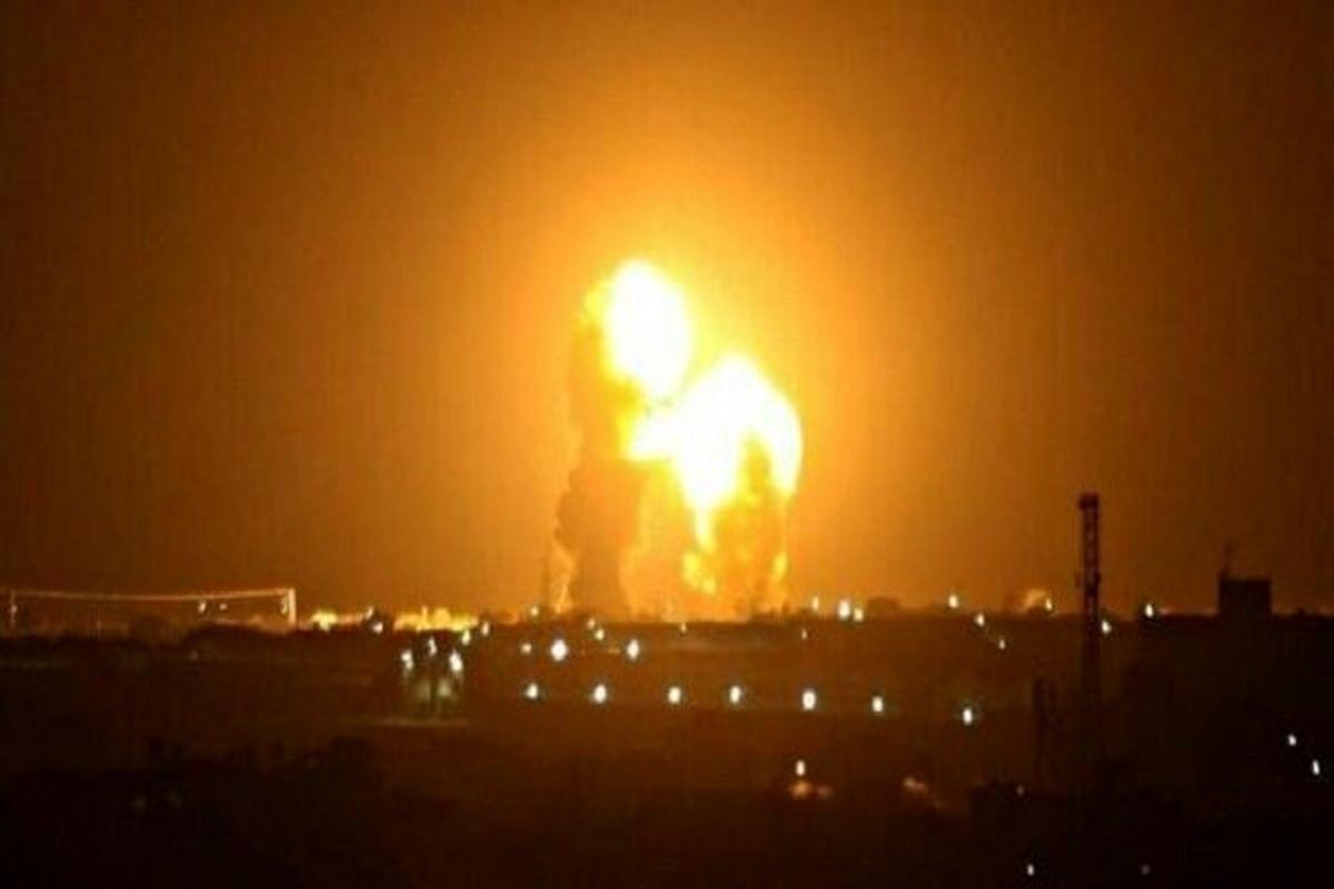 حمله موشکی مجدد به پایگاه آمریکا  | ستونهایی از دود در آسمان برخاست