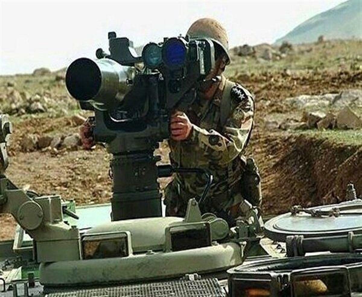 موشک ضد زره نیروهای مسلح ایران که کابوس دشمنان است+عکس