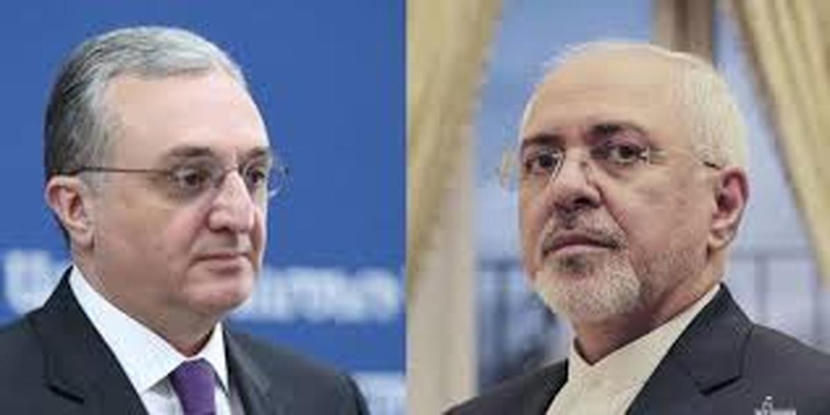 ظریف | وزرای امور خارجه و ارمنستان  تلفنی گفت و گو کردند