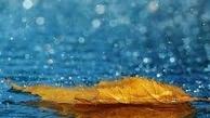 بارش باران دربرخی از استان ها