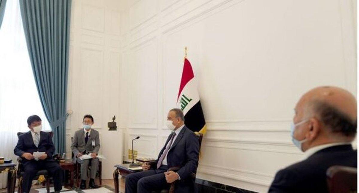 دعوت الکاظمی از ژاپن برای حضور در نشست منطقهای بغداد به عنوان ناظر