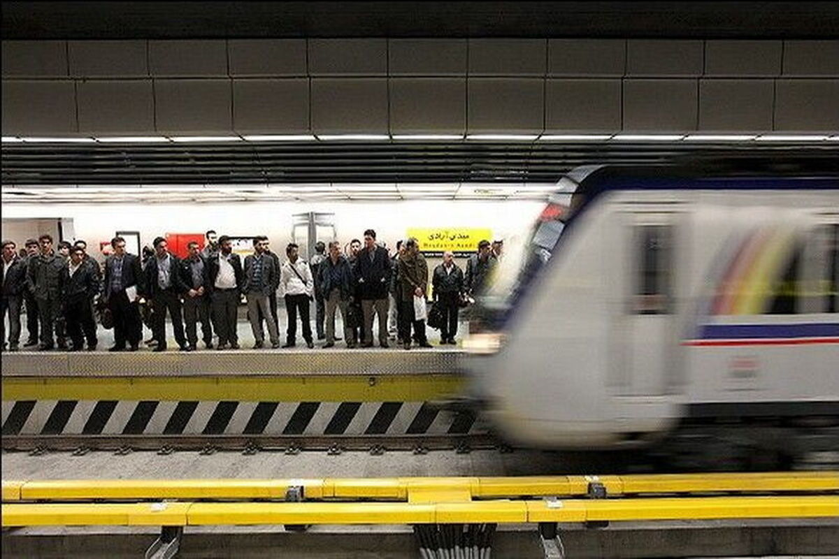 خدمات مترو تهران در روز ۲۲ بهمن رایگان است