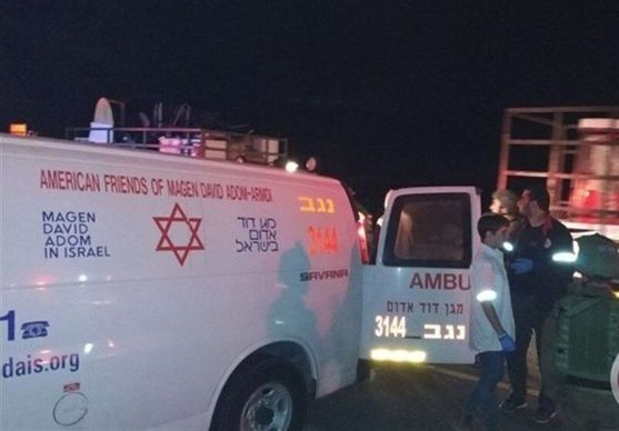 ۳۶ شهرک نشین در حمله موشکی نیروهای مقاومت فلسطین زخمی شدند