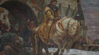 ویدئو : نقاشی گم شده در جنگ جهانی دوم پیدا شد!