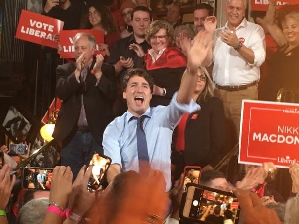 ویدئو: انتخابات کانادا؛ جاستین ترودو دولت اقلیت تشکیل میدهد