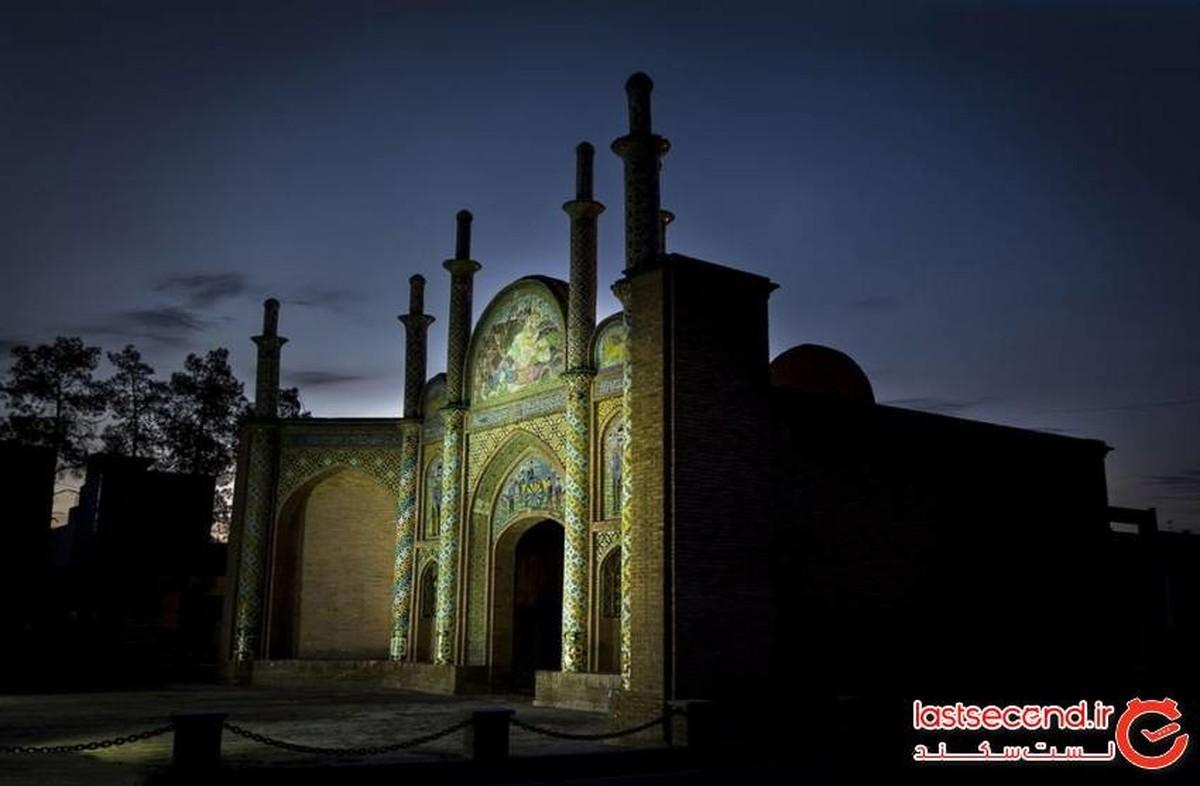 دروازه ارگ طلایی، نماد شهر سمنان