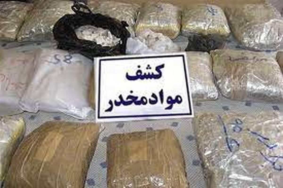 قاچاق  | طی دو هفته گذشته در کشور حدود ۲۶ تن موادمخدر  کشف شد