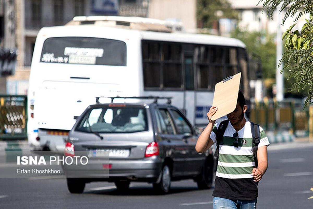 «ازن» هوای تهران را برای همه افراد ناسالم کرد
