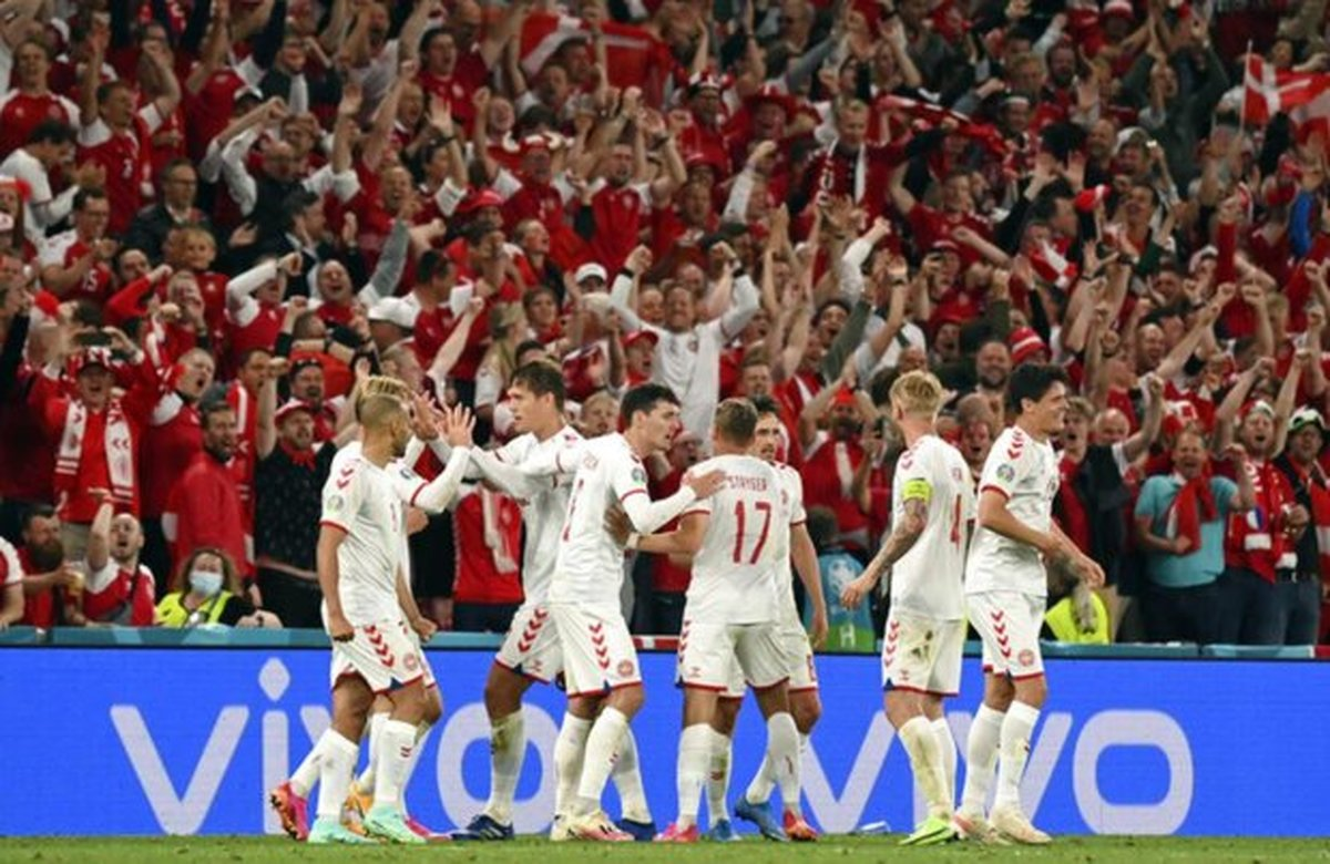 دانمارک با غلبه بر ولز به یک چهارم نهایی صعود کرد حذف یاران «بیل»