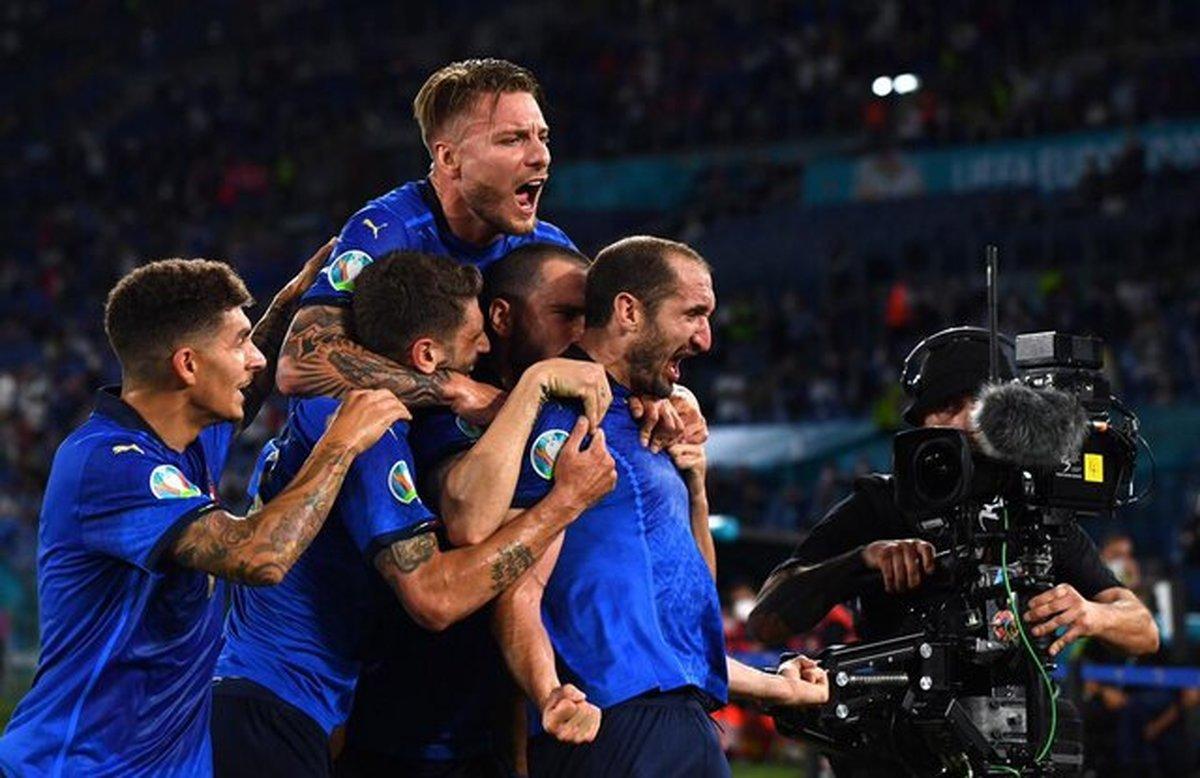 ترکیب ایتالیا و اسپانیا برای تقابل در نیمهنهایی یورو ۲۰۲۰
