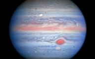 تصویر روز سیاره مشتری  توسط تلسکوپ فضایی هابل