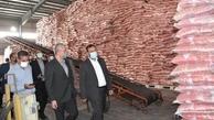 دستور ترخیص فوری محموله ۱۶ هزار تنی برنج وارداتی از بندرعباس صادر شد