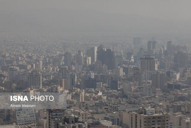 کاهش کیفیت هوای پایتخت طی امروز و فردا