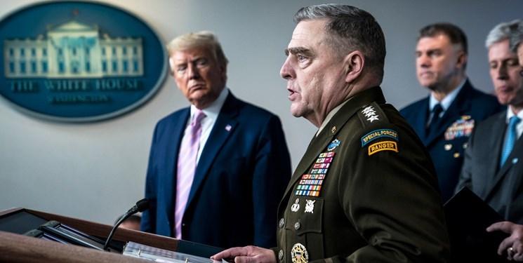 نیروهای مسلح آمریکا  |  نگرانی واشنگتن درباره در خطر بودن جان فرماندهان ارشد نظامی این کشور