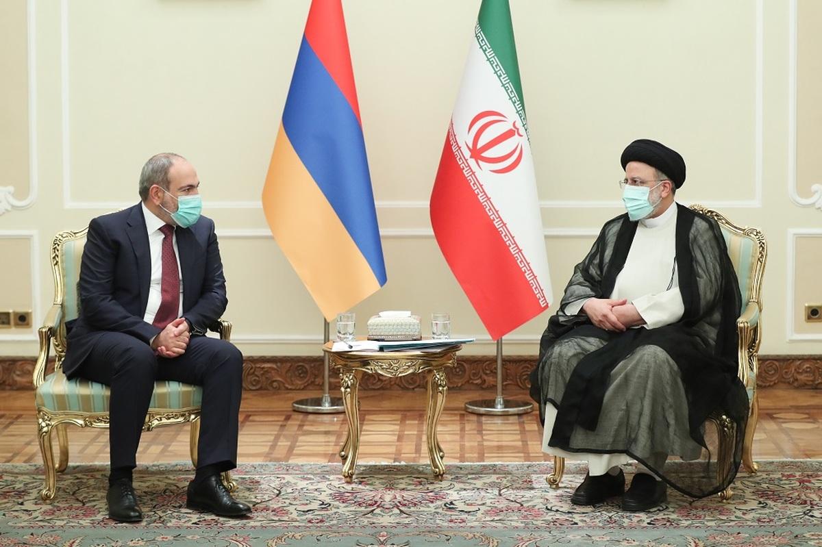 رئیسی در دیدار نخست وزیر ارمنستان: درگیری و تنش را به نفع هیچ کس نمی دانیم