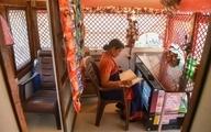 سرویس بهداشتی متحرک و چرخدار زنانه در هند