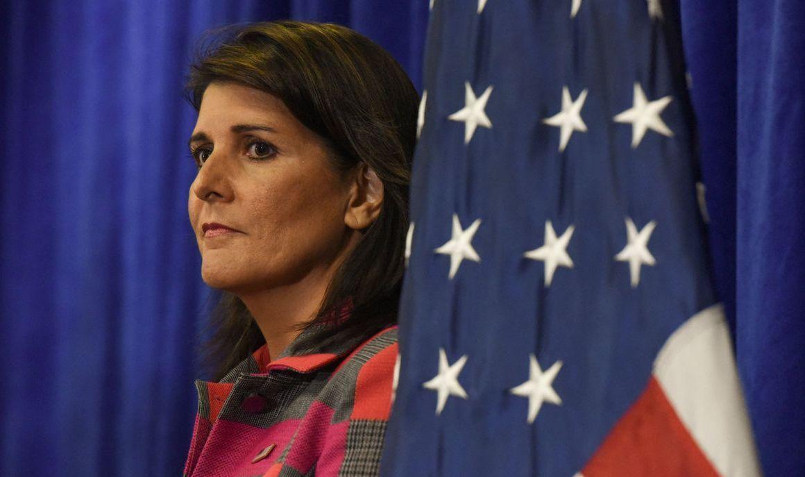نیکی هیلی: اعطای وام به ایران را قبول نمیکنیم