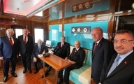 افتتاح رسمی جزیره دموکراسی و آزادی با حضور رئیس جمهور ترکیه