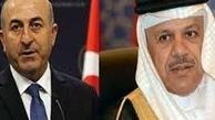 تماس تلفنی وزیر خارجه ترکیه با همتای بحرینی