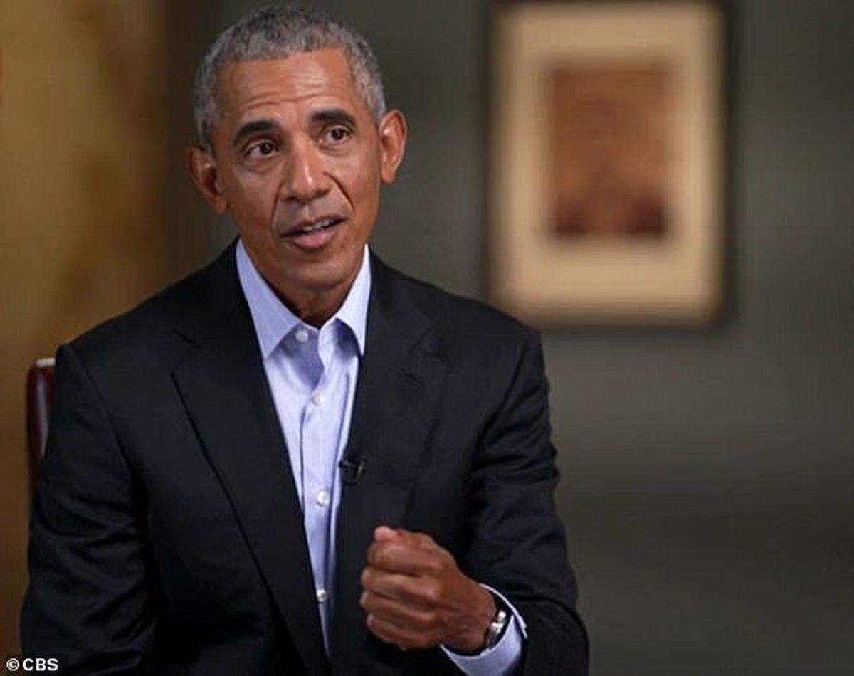 اوباما      میتوان ترامپ را به زور از کاخ سفید بیرون انداخت