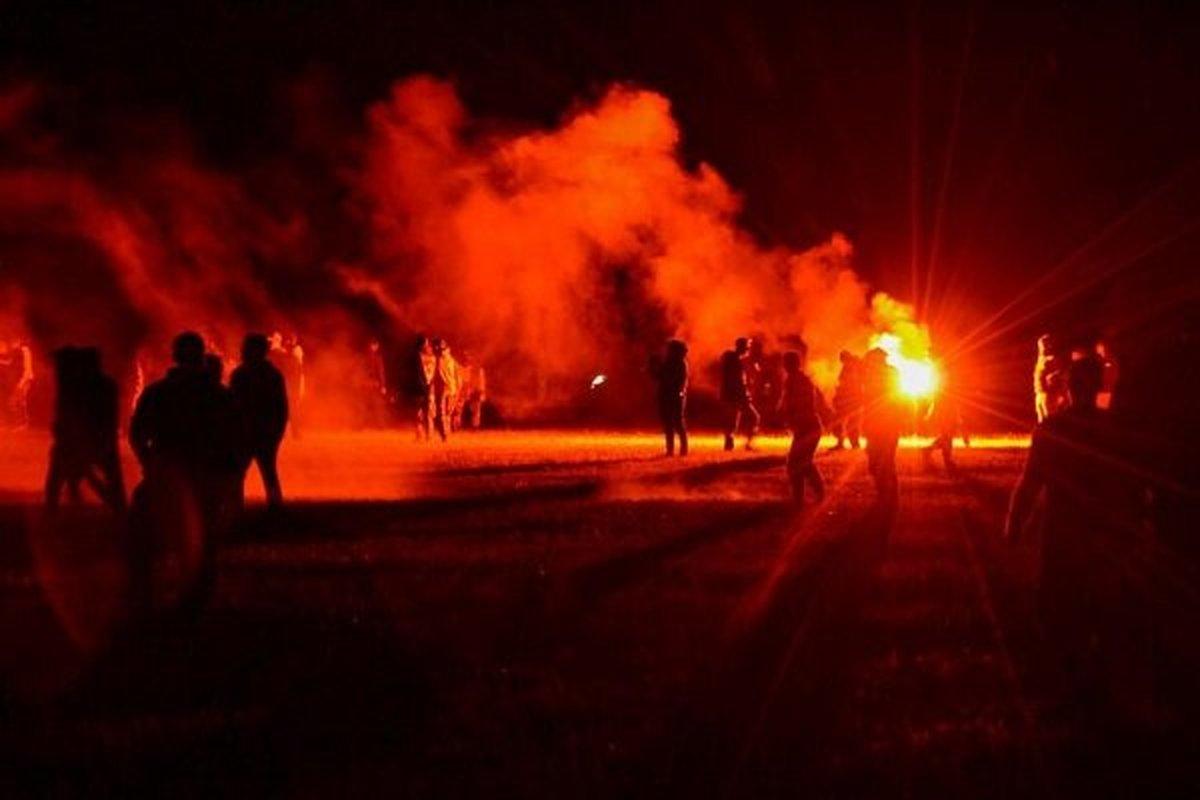 ۷ مجروح در پی درگیری پلیس و معترضین در فرانسه