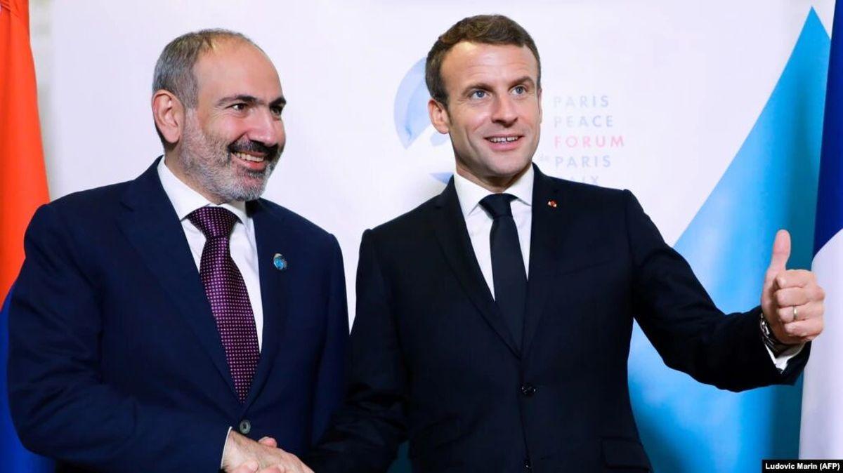 فرانسه از ارمنستان در برابر جمهوری آذربایجان حمایت کرد