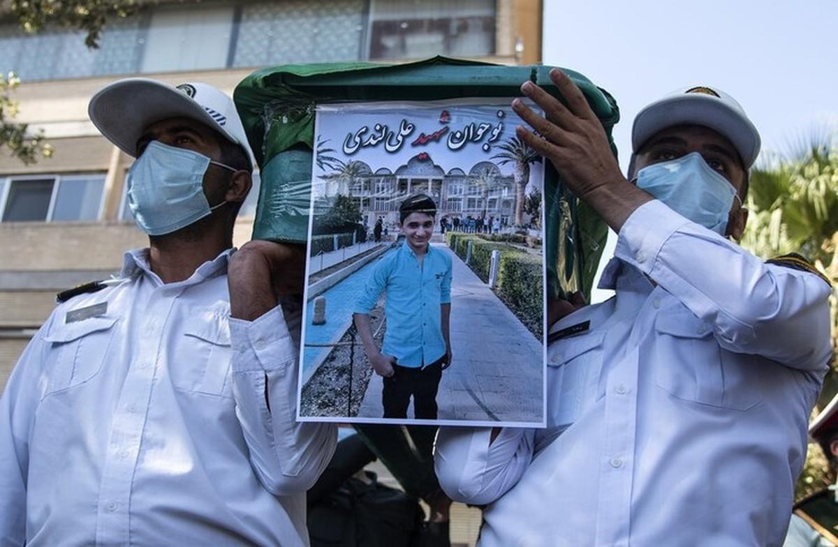 موافقت مقام معظم رهبری با درخواست «در حکم شهید» تلقی شدن علی لندی