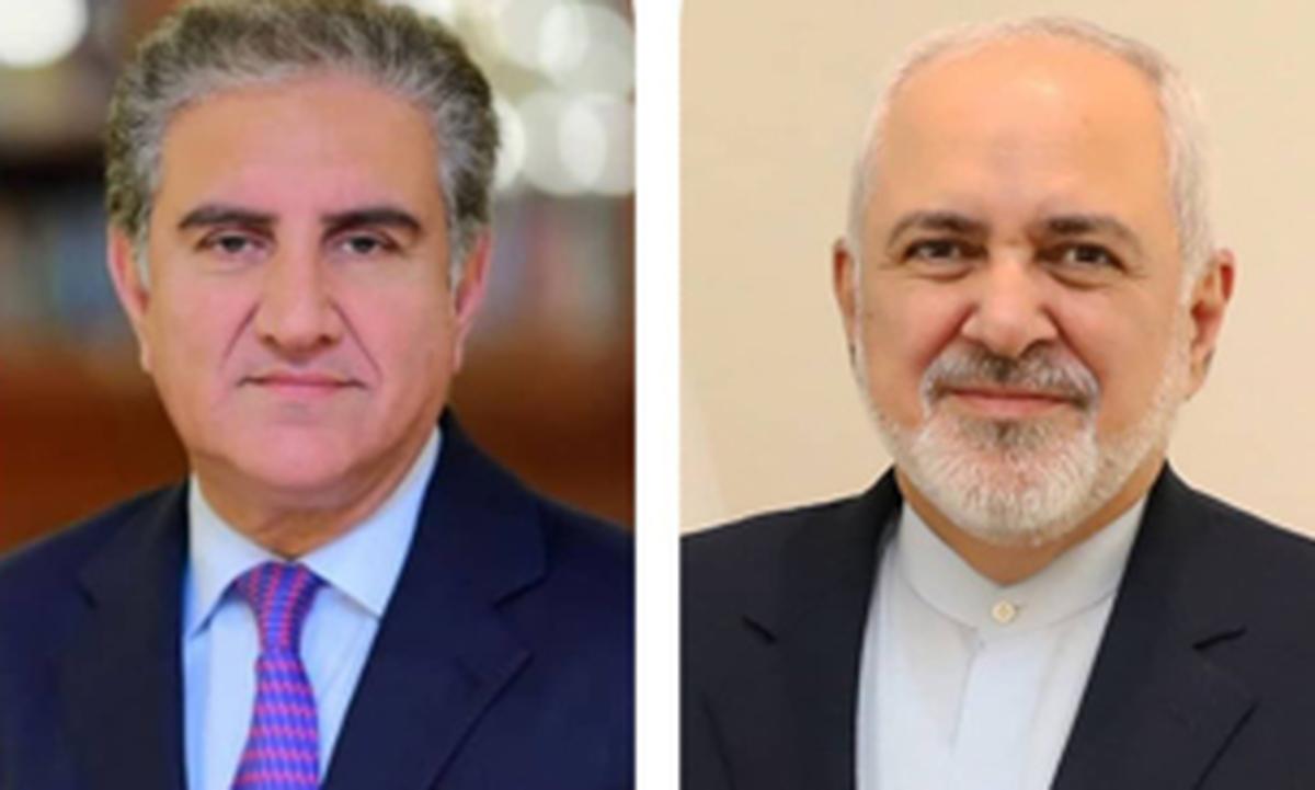 گفتگوی تلفنی محمد جواد ظریف وشاه محمود قریشی