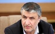 سفر وزیر راه ایران به اوکراین برای تسلیت رسمی
