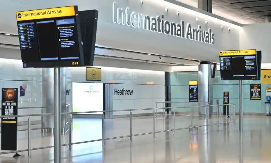 همهگیری کرونا ۲.۸ میلیارد دلار به فرودگاه اصلی انگلیس خسارت زد