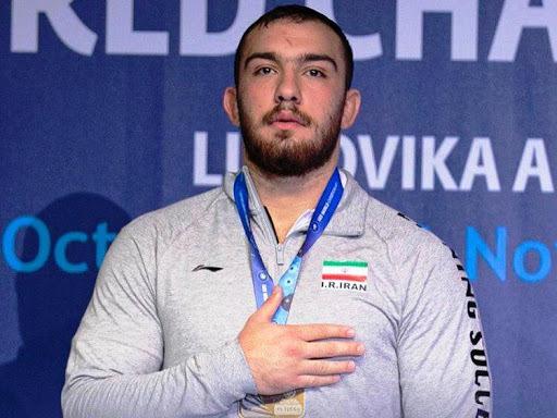 کشتی آزاد المپیک ۲۰۲۰ توکیو | نماینده سنگین وزن ایران  به برتری رسید