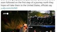 مهاجران دوباره به مرزهای آمریکا رسیدند+ عکس