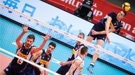 پیروزی حریف والیبال ایران مقابل روسیه قبل از شروع بازیهای المپیک