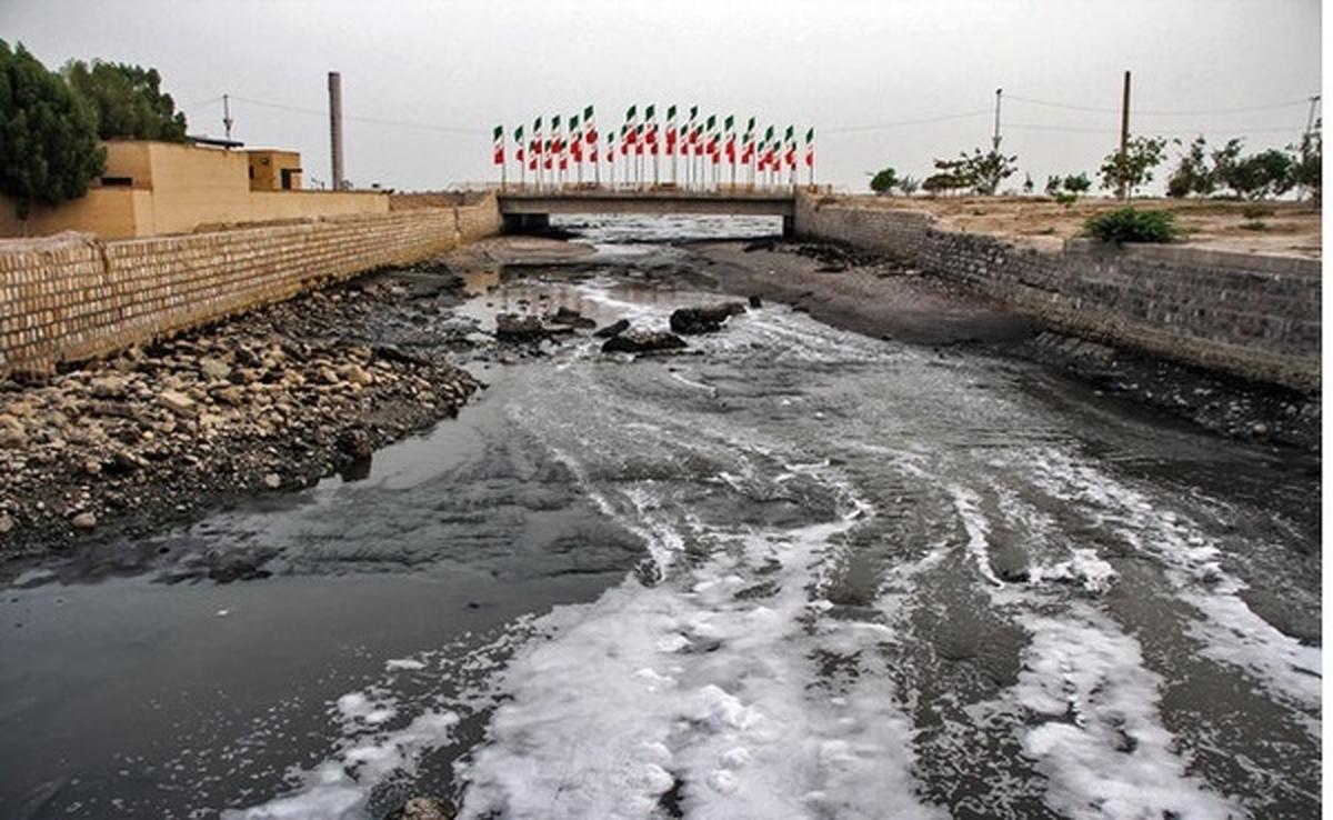 میزان آلودگی فاضلاب بندرعباس پنج برابر استاندار است