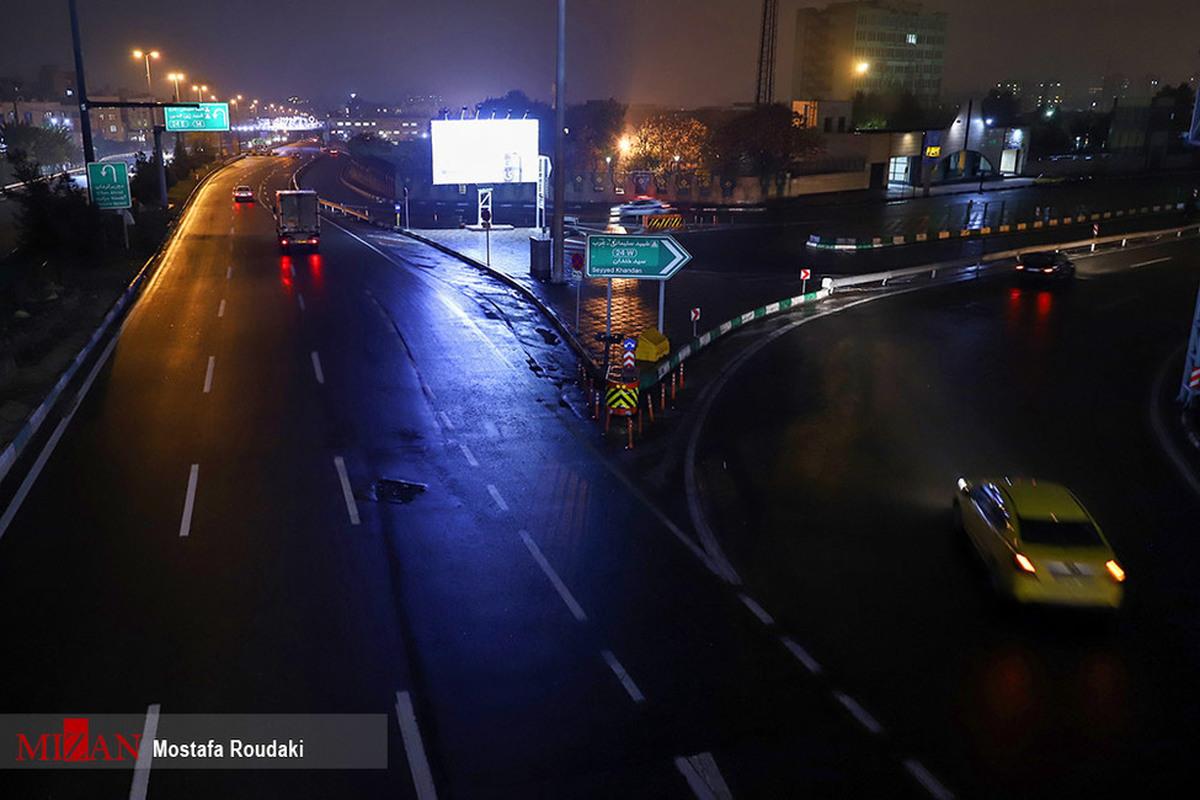 آغاز محدودیتهای جدید کرونایی در پایتخت از امشب