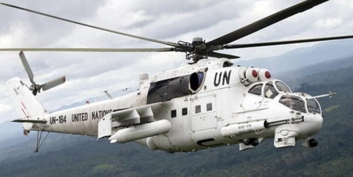 خبرگزاری فرانسه  | 7 کشته در سقوط بالگرد سازمان ملل در مصر