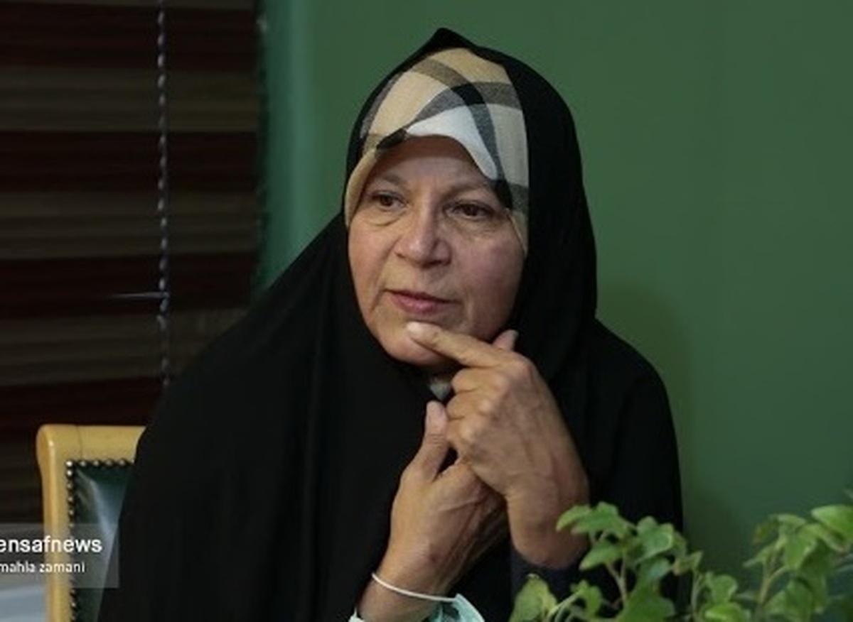 واکنش تند فائزه هاشمی درباره کاندیداها| فائزه هاشمی: از همتی حمایت نمی کنم