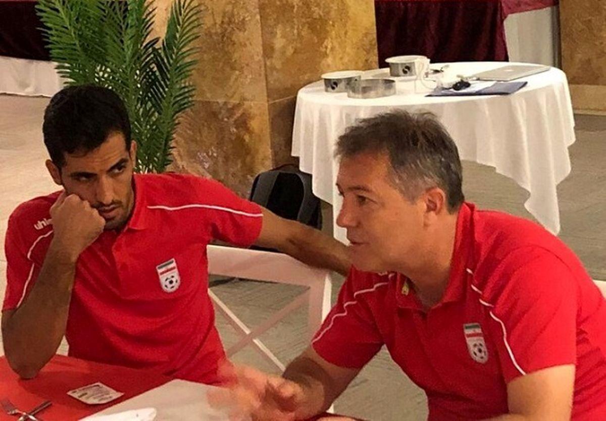بازیکنان بازی با بحرین را فراموش کنند