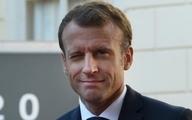 رئیس جمهور فرانسه  از روی نقطه پنالتی گل زد+تصاویر