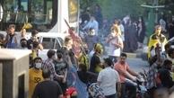 تجمع هواداران زیر سایه کرونا| جلوگیری از حرکت اتوبوس پرسپولیس به سمت ورزشگاه!
