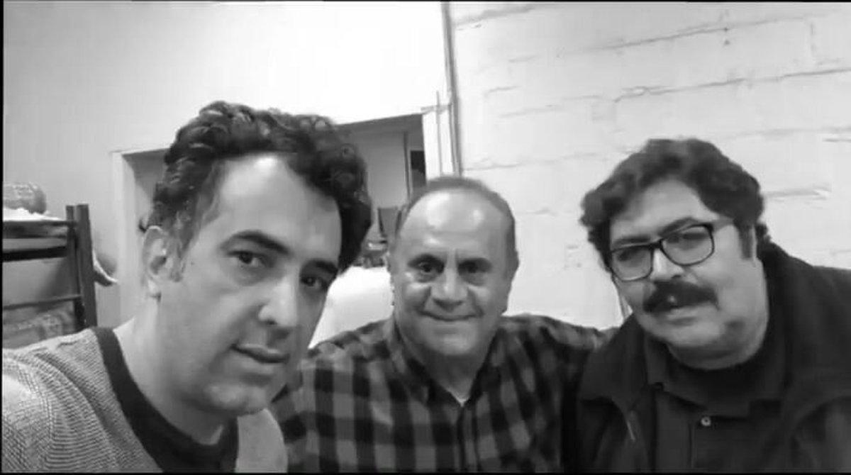 همبازی فرهاد اصلانی با بازیگر ایرانی هالیوود