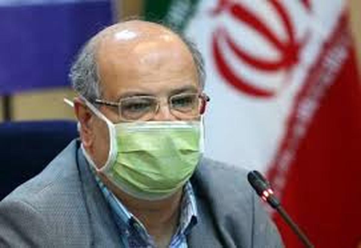 علیرضا زالی     موج سوم کرونا در تهران آغاز شد