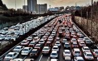 ترافیک سنگین درمحورهای مواصلاتی مختلف +جدول